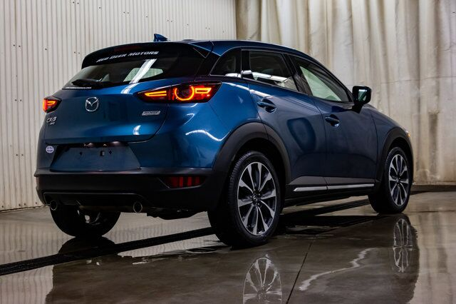 2019 Mazda CX-3 AWD GT Leather Roof BCam Red Deer AB