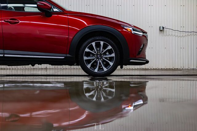 2019 Mazda CX-3 AWD GT Leather Roof Nav BCam Red Deer AB