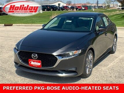 2019_Mazda_Mazda3 Sedan_with Preferred Pkg_ Fond du Lac WI