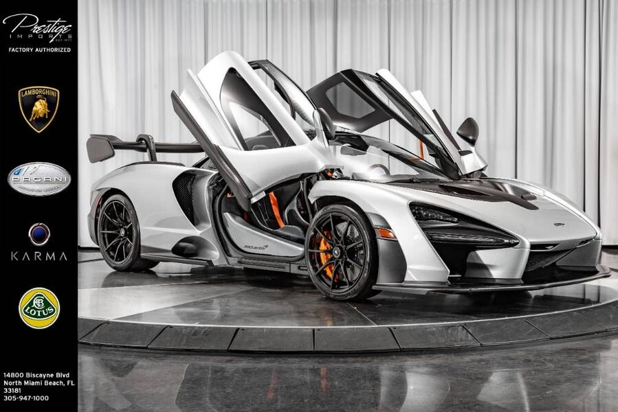 2019_McLaren_Senna__ North Miami Beach FL