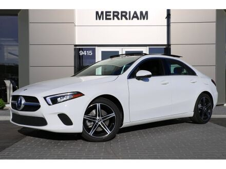2019_Mercedes-Benz_A-Class_A 220_ Merriam KS