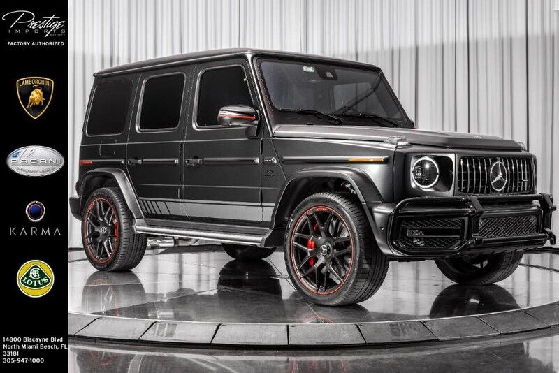 2019_Mercedes-Benz_AMG G 63_Edition 1_ North Miami Beach FL