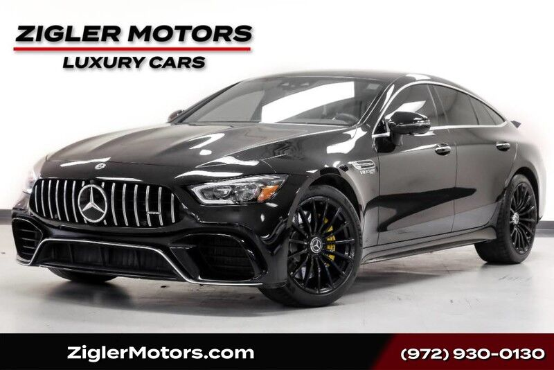 2019 Mercedes-Benz AMG GT 63 4-Door Coupe AMG Dynamic Plus Performance Exhuast BURMESTER 3D SURROUND SOUND