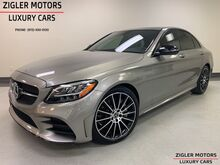 2019_Mercedes-Benz_C 300_AMG Line 1069 miles New Condition Driver Assist Multimedia Pkg 19 inch Multi Spoke AMG Wheels_ Addison TX
