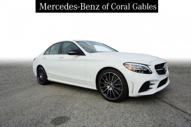2019 Mercedes-Benz C 300 Sedan KU296863 Coral Gables FL