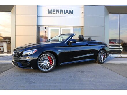 2019_Mercedes-Benz_C_AMG® 63 S Cabriolet_ Merriam KS