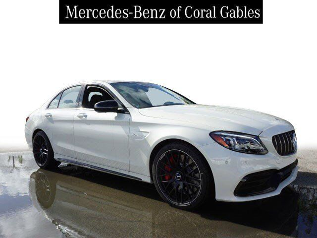2019 Mercedes-Benz C AMG® 63 S Sedan Coral Gables FL