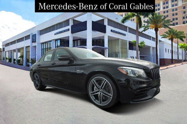 2019 Mercedes-Benz C AMG® 63 Sedan Cutler Bay FL
