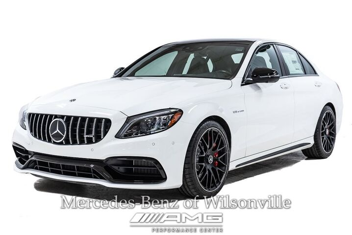 2019 Mercedes-Benz C-Class AMG® 63 S Sedan Portland OR