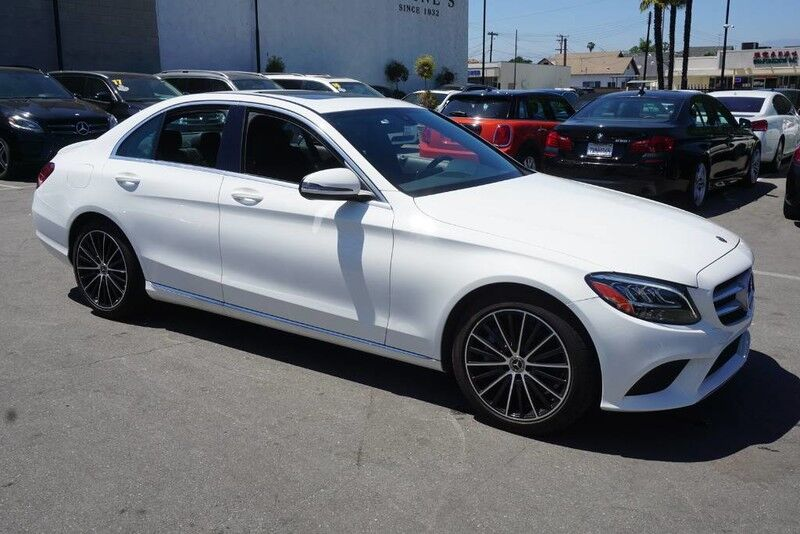 2019 Mercedes-Benz C-Class C 300 (01/19) LED HEADLIGHTS Monterey Park CA
