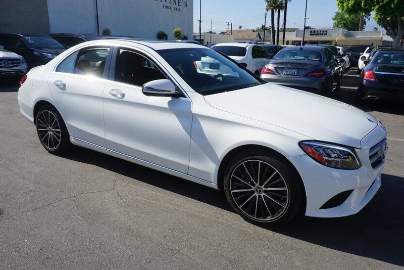 2019 Mercedes-Benz C-Class C 300 (01/19) REARVIEW MONITOR / BLIND SPOT ASSIST Monterey Park CA
