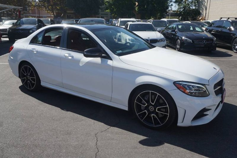 2019 Mercedes-Benz C-Class C 300 (11/18) SPORT PACKAGE / P01 / NIGHT PACKAGE/19AMG Monterey Park CA