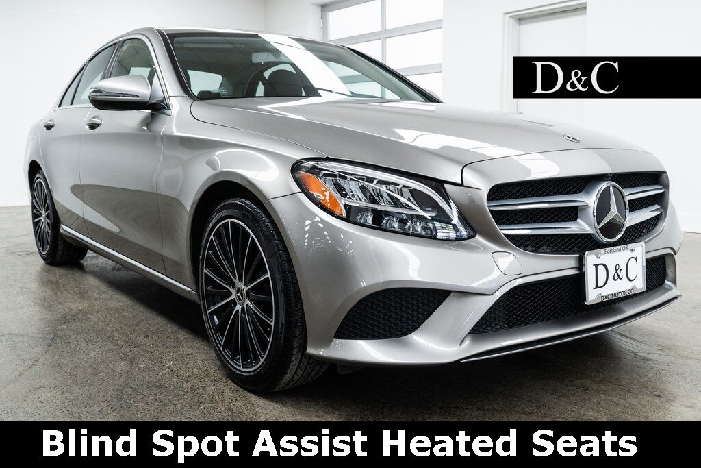 2019 Mercedes-Benz C-Class C 300 Blind Spot Assist Heated Seats Portland OR