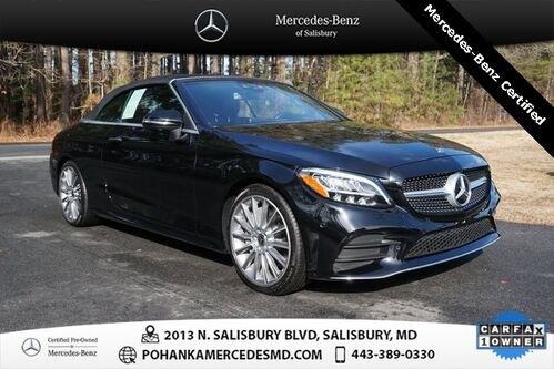 2019_Mercedes-Benz_C-Class_C 300 Convertible ** Mercedes-Benz Pre-Owned Certified_ Salisbury MD