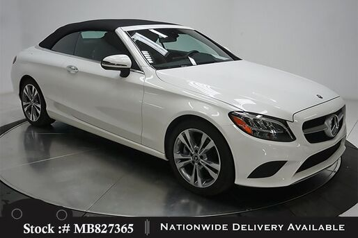 2019_Mercedes-Benz_C-Class_C 300 Convertible NAV READY,CAM,HTD STS,LED LIGHTS_ Plano TX