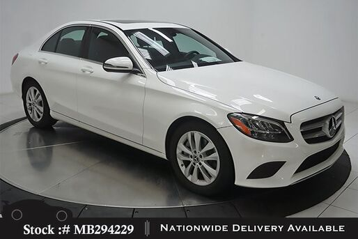 2019_Mercedes-Benz_C-Class_C 300 NAV READY,CAM,SUNROOF,BLIND SPOT,LED LIGHTS_ Plano TX