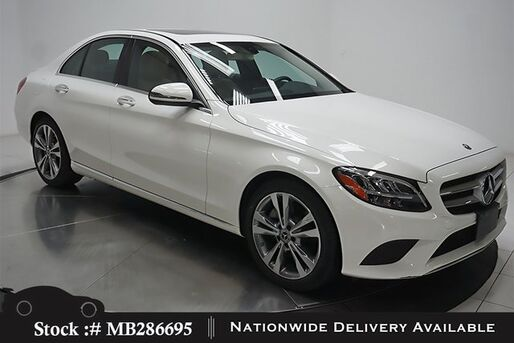 2019_Mercedes-Benz_C-Class_C 300 NAV READY,CAM,SUNROOF,KEY-GO,LED LIGHTS_ Plano TX