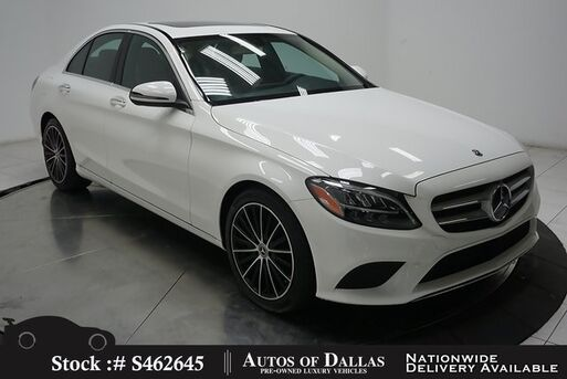 2019_Mercedes-Benz_C-Class_C 300 NAV,CAM,SUNROF,HTD STS,BLIND SPOT,LED LIGHTS_ Plano TX