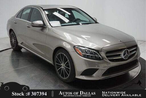 2019_Mercedes-Benz_C-Class_C 300 NAV,CAM,SUNROOF,HTD STS,BLIND SPOT,LED LIGHT_ Plano TX