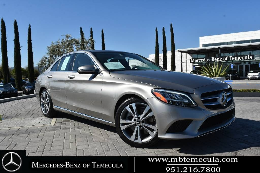2019 Mercedes-Benz C-Class C 300 Rear Wheel Drive Sedan