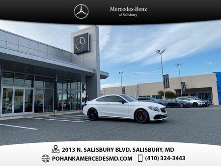 2019_Mercedes-Benz_C-Class_C 63 S AMG® ** LOW MILES **_ Salisbury MD