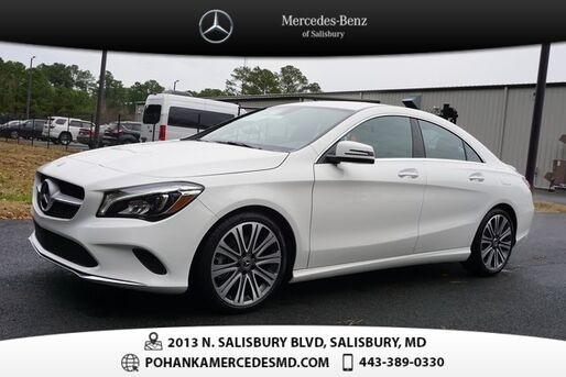 2019_Mercedes-Benz_CLA_250 4MATIC®_ Salisbury MD