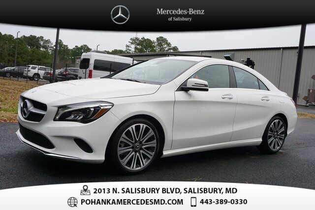 2019 Mercedes-Benz CLA 250 4MATIC® Salisbury MD