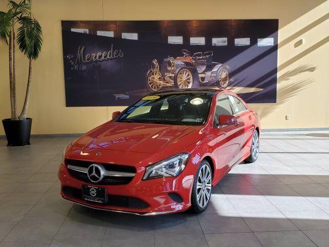 2019 Mercedes-Benz CLA CLA 250 4MATIC® COUPE Morristown NJ