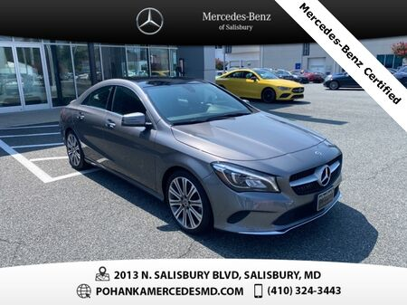 2019_Mercedes-Benz_CLA_CLA 250 4MATIC®** Mercedes-Benz Certified **_ Salisbury MD