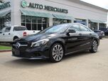 2019 Mercedes-Benz CLA-Class CLA250 LEATHER, NAVIGATION, BACKUP CAMERA, BLIND SPOT MONITOR, BLUETOOTH, PANORAMIC SUNROOF