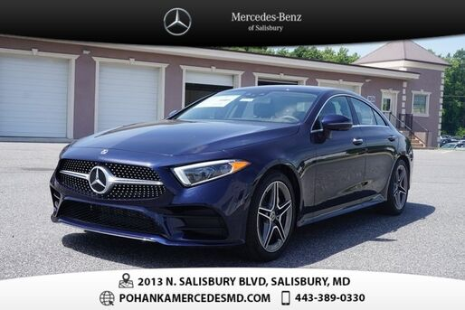 2019_Mercedes-Benz_CLS_450 4MATIC_ Salisbury MD