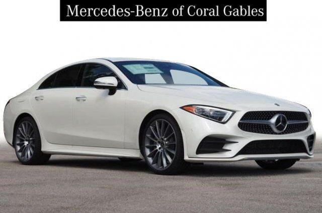 New 2019 Mercedes-Benz CLS 450 Coupe in Coral Gables FL