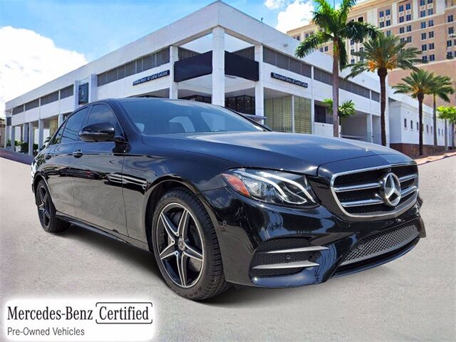 2019 Mercedes-Benz E 300 Sedan # Z375 Coral Gables FL