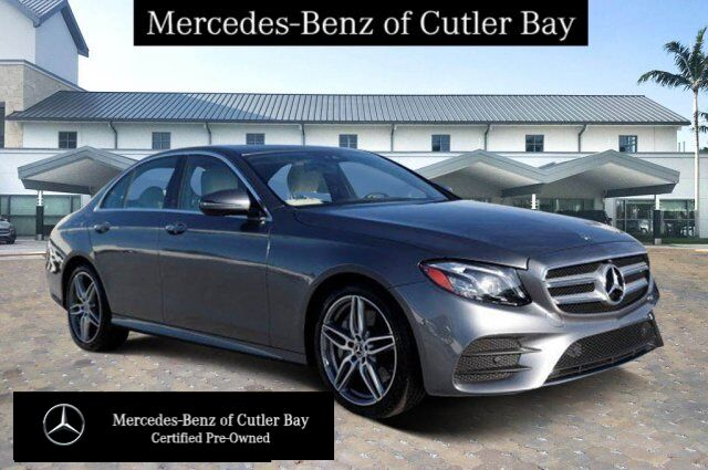 2019 Mercedes-Benz E 300 Sedan UL9133CB Cutler Bay FL