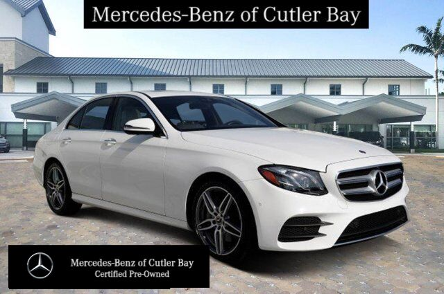 2019 Mercedes-Benz E 300 Sedan UL9132CB Cutler Bay FL