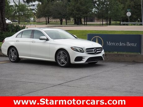 2019 Mercedes-Benz E 450 4MATIC® Sedan Houston TX
