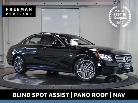 2019_Mercedes-Benz_E 450_4MATIC Sport Keyless Go Pano Blind Spot Assist Nav_ Portland OR