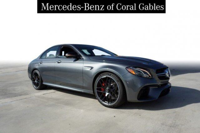 2019 Mercedes-Benz E AMG® 63 S Sedan Coral Gables FL