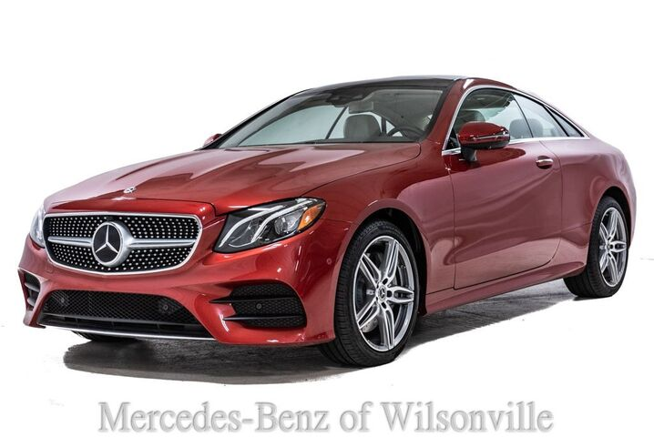 2019 Mercedes-Benz E-Class 450 4MATIC® Coupe Portland OR