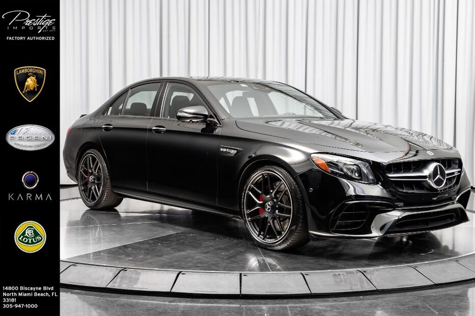 2019_Mercedes-Benz_E-Class_AMG E 63 S_ North Miami Beach FL