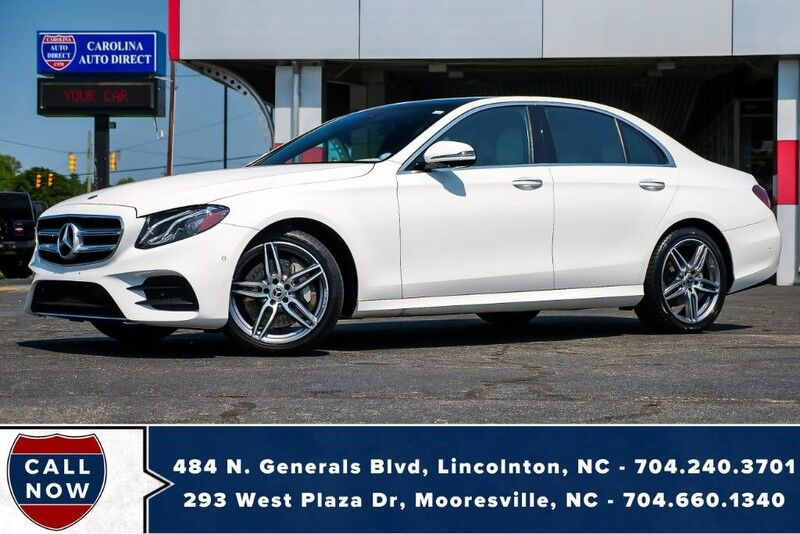 2019 Mercedes-Benz E-Class E 300 4MATIC AWD w/ AMG EXT PKG, Heated Front Seats & NAV Mooresville NC