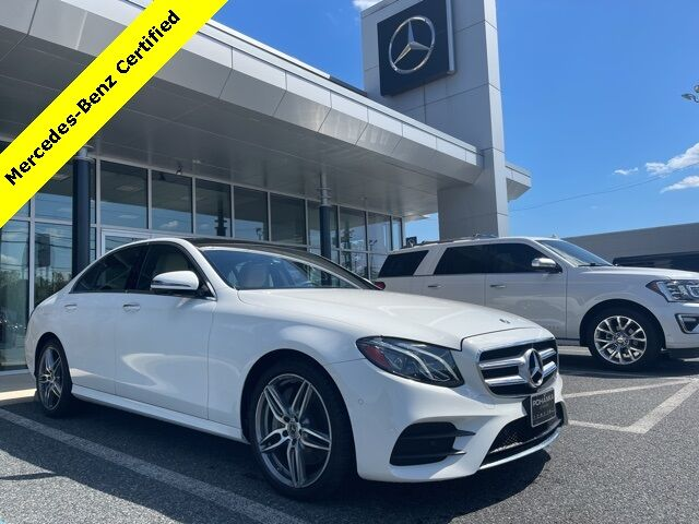 2019 Mercedes-Benz E-Class E 300 4MATIC® Mercedes-Benz Certified Pre-Owned Salisbury MD