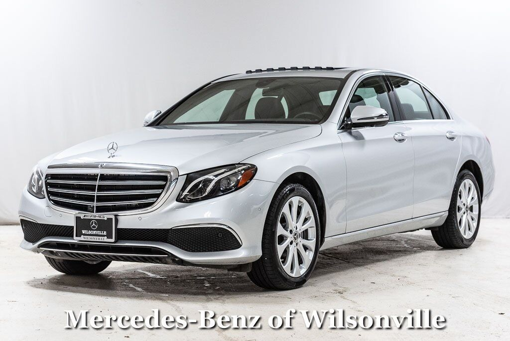2019 Mercedes-Benz E-Class E 300 4MATIC® Sedan Wilsonville OR