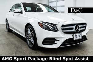 2019 Mercedes-Benz E-Class E 450 4MATIC AMG Sport Package Blind Spot Assist