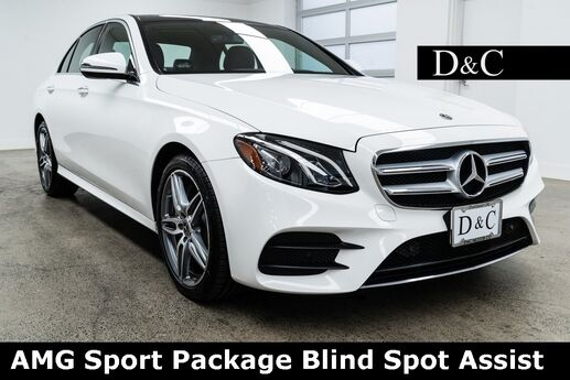 2019 Mercedes-Benz E-Class E 450 4MATIC AMG Sport Package Blind Spot Assist Portland OR