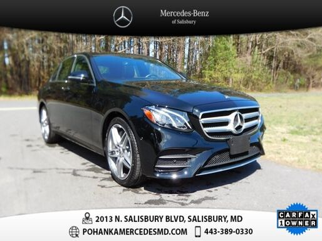 2019_Mercedes-Benz_E-Class_E 450 4MATIC®_ Salisbury MD