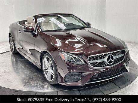 2019_Mercedes-Benz_E-Class_E 450 Convertible AMG SPORT,NAV,CAM,CLMT STS_ Plano TX