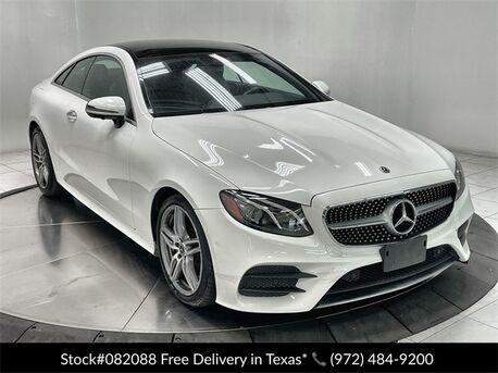 2019_Mercedes-Benz_E-Class_E 450 Coupe AMG SPORT,NAV,CAM,PANO,CLMT STS_ Plano TX