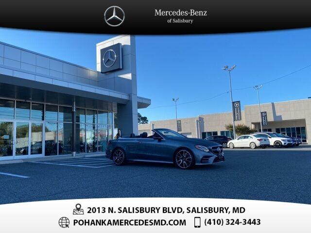 2019 Mercedes-Benz E-Class E 53 AMG® 4MATIC®** DRIVER ASSISTANCE PKG. ** Salisbury MD