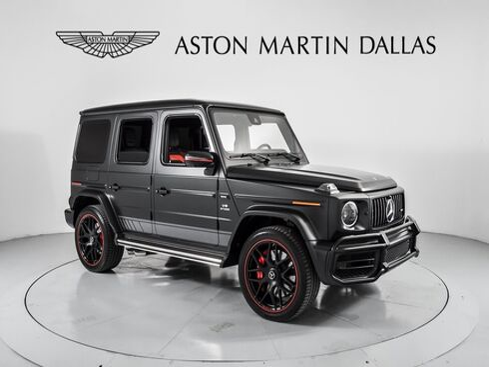 2019_Mercedes-Benz_G-Class_G 63 AMG®_ Dallas TX